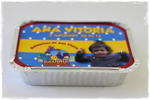 Marmita Galinha Pintadinha