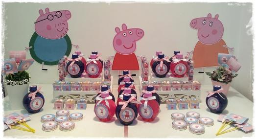 Mesa personalizada Peppa Pig