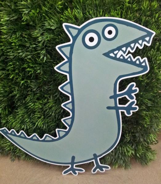 Personagem de parede Dino