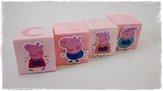 Caixinha estilizada Peppa Pig