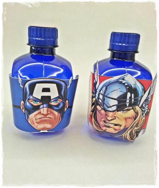Agua Vingadores
