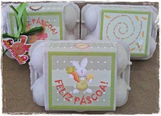 Caixinha de ovos de Páscoa