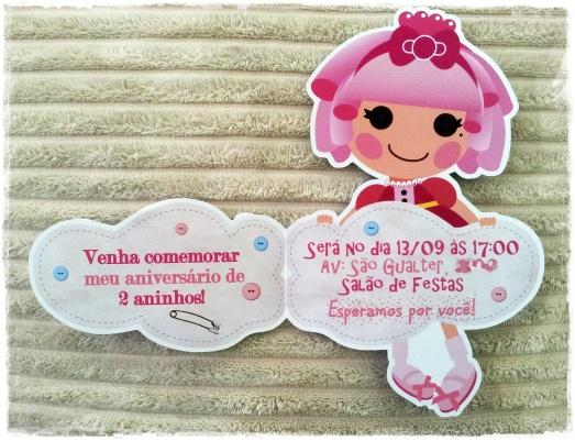 Convite Lalaloopsy