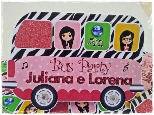 Convite Bus Party
